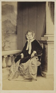 Mrs Charles Carr Clerke, by Unknown photographer - NPG Ax9625