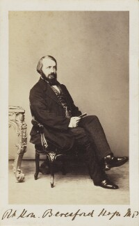 Alexander James Beresford Beresford Hope, by Unknown photographer - NPG Ax9651