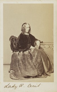 Georgina Gascoyne-Cecil (née Alderson), Marchioness of Salisbury, by Unknown photographer - NPG Ax9657