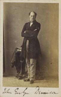 (John) Evelyn Denison, 1st Viscount Ossington, by Unknown photographer - NPG Ax9666