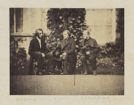 Samuel Wilberforce; James Randall; Henry Hutchinson Swinny, by Hills & Saunders - NPG Ax9674