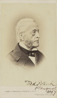 Sir (Jonathan) Frederick Pollock, 1st Bt, by John & Charles Watkins, circa 1867 - NPG Ax9705 - © National Portrait Gallery, London