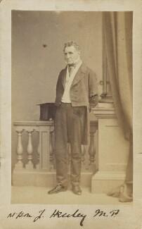 Joseph Warner ('J.W.') Henley, by Unknown photographer - NPG Ax9720
