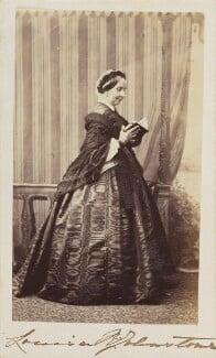 Louisa Augusta (née Harcourt), Lady Vanden-Bempde-Johnstone, by Unknown photographer - NPG Ax9726