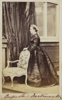 Augusta (née Finch), Countess of Dartmouth, by Unknown photographer - NPG Ax9728