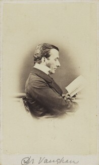 Charles John Vaughan, by Unknown photographer - NPG Ax9734
