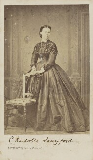 Charlotte Wilberforce (née Langford), by Sergey Lvovich Levitsky, circa 1864 - NPG Ax9773 - © National Portrait Gallery, London