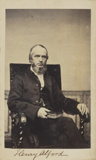 Henry Alford, by Unknown photographer - NPG Ax9818