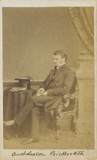 Edward Bickersteth, by Unknown photographer - NPG Ax9823