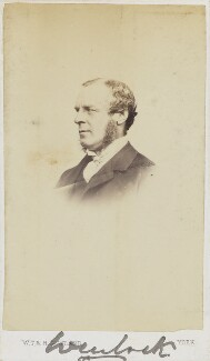 Beilby Richard Lawley, 2nd Baron Wenlock, by W.T. & R. Gowland (William Thomas Gowland & Robert Gowland) - NPG Ax9846