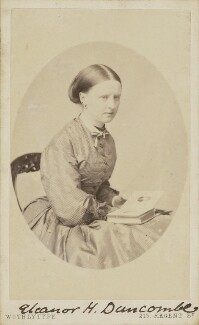 Eleanor Harriet Duncombe, by United Association of Photography Limited - NPG Ax9848