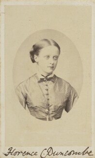 Florence Caroline Duncombe, by United Association of Photography Limited - NPG Ax9849