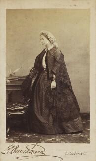 Harriet (née Wright), Lady Overstone, by Leonida Caldesi - NPG Ax9856