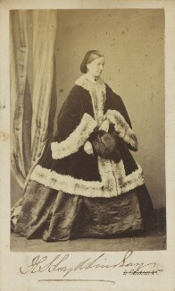 Harriet Sarah, Lady Wantage, by Leonida Caldesi - NPG Ax9857