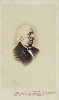 Samuel Jones Loyd, 1st Baron Overstone, by Leonida Caldesi - NPG Ax9859