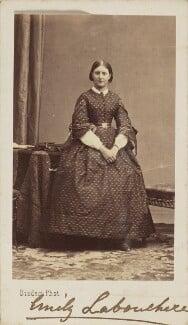 Emily Eliot (née Labouchere), Countess St Germans, by Disdéri - NPG Ax9860