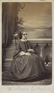 Elizabeth Margaretta Maria Gilbert, by Unknown photographer - NPG Ax9881