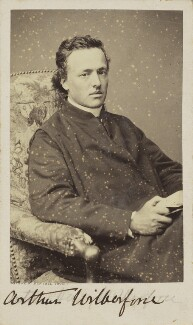 (Bertrand) Arthur Henry Wilberforce, by Bayard & Bertall, 1861-1866 - NPG Ax9935 - © National Portrait Gallery, London