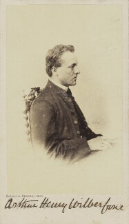 (Bertrand) Arthur Henry Wilberforce, by Bayard & Bertall, 1861-1866 - NPG Ax9938 - © National Portrait Gallery, London