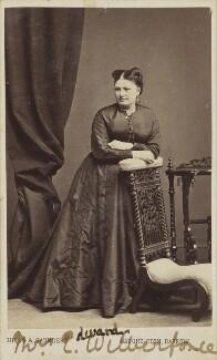 Frances Wilberforce (née Flash), by Hills & Saunders - NPG Ax9940