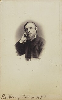 Henry John Sargent, by Unknown photographer - NPG Ax9943