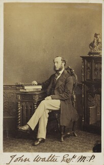 John Walter, by Unknown photographer - NPG Ax9954