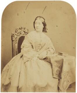 Adelaide Ristori, by Herbert Watkins - NPG P301(105)