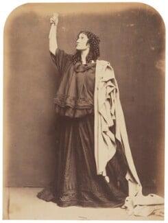 Adelaide Ristori, by Herbert Watkins - NPG P301(122)