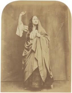 Adelaide Ristori, by Herbert Watkins - NPG P301(123)