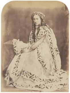 Adelaide Ristori, by Herbert Watkins - NPG P301(124)
