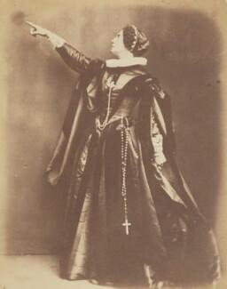 Adelaide Ristori, by Herbert Watkins - NPG P301(176)