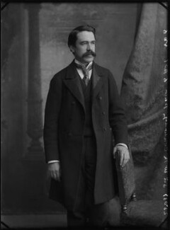 (William) Martin Conway, 1st Baron Conway of Allington, by Alexander Bassano - NPG x1057