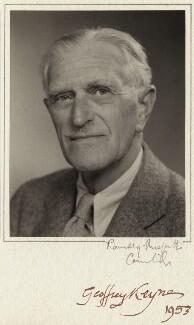 Sir Geoffrey Langdon Keynes, by Ramsey & Muspratt - NPG x1091