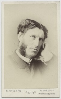 Matthew Arnold, by Elliott & Fry, 1870s - NPG x110 - © National Portrait Gallery, London