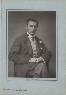 Joe Chamberlain, by Herbert Rose Barraud, published by  Richard Bentley & Son - NPG x1110