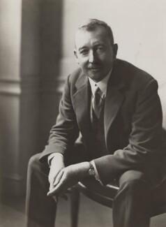 Sir Edward Hoblyn Warren Bolitho, by Olive Edis - NPG x1133