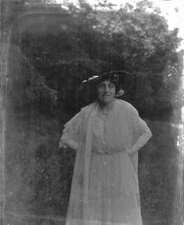 Lena Ashwell (née Lena Margaret Pocock, later Lady Simson), by Mrs Albert Broom (Christina Livingston), early 1910s - NPG x1138 - © National Portrait Gallery, London