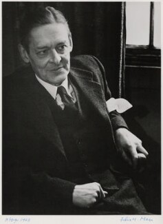 T.S. Eliot, by Felix H. Man - NPG x1152