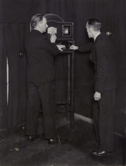 R. F. Tiltman; John Logie Baird, by Unknown photographer - NPG x11614