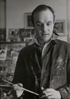Keith Vaughan, by Felix H. Man - NPG x11809