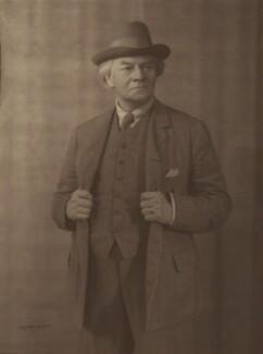 Jerome Klapka Jerome, by Hay Wrightson - NPG x11843