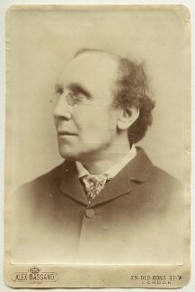 Henry Fawcett, by Alexander Bassano - NPG x11888