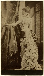 Sarah Bernhardt in 'Frou-Frou', by Napoleon Sarony, 1880 - NPG  - © National Portrait Gallery, London