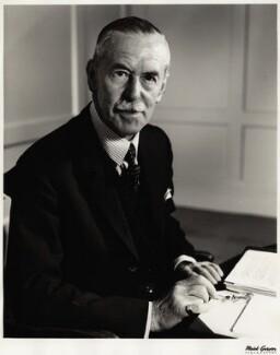 Sir Noel Vansittart Bowater, 2nd Bt, by Mark Gerson - NPG x1194