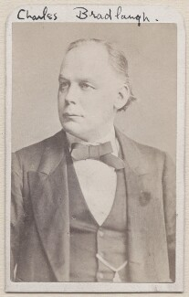 Charles Bradlaugh, by Unknown photographer - NPG x1212