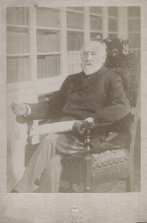 Henry du Pré Labouchère, by studio of Giacomo Brogi, 1906-1912 - NPG x12143 - © National Portrait Gallery, London
