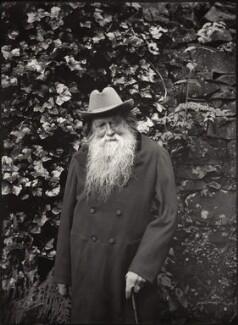 John Ruskin, by John McClelland, Summer 1892 - NPG  - © National Portrait Gallery, London
