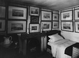 View of John Ruskin's bedroom, by John McClelland - NPG x12190
