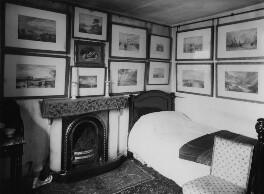 View of John Ruskin's bedroom, by John McClelland - NPG x12192