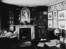 View of John Ruskin's study, by John McClelland - NPG x12193